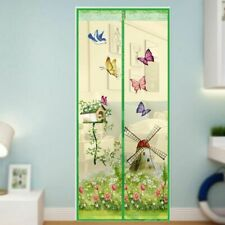 Curtain Magnetic Mesh Fly Insect Anti Mosquito Bedroom Kitchen Door Screen Net