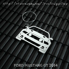 Ford Mustang GT 2014 Stainless Steel Keychain