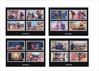 2017 DISNEY ZOOTOPIA 8 SOUVENIR SHEETS unperforated cartoons animation