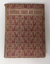 Number Three Joy Street Medley Prose Walter De la Mare Milne Vintage plates 1923