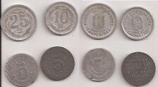 Französisches Notgeld (4 Münzen)