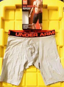 "UNDER ARMOUR UA Original 9"" Boxerjock Underwear Boxers Briefs Men's size S Small"