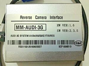 AUDI REVERSE CAMERA INTERFACE MM-AUDI-3G A1/A4/A5/Q5/07/TOUREG (No Camera)