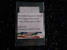 Jelco Headshell Kabel OFC Kupfer / Free worldwide shipping