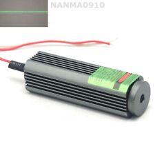 ACC Aluminum 532nm 50mW Green Laser Diode Module Line Unit w Glass Lens 110 deg