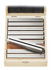 WABECO Parallel Unterlagen 9 Paar Schraubstock Unterlage Fräsunterlagen 11660