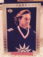 Wayne Gretzky Mcdonald's Rangers Redemption Card 1997 Large 5 by 7 inches