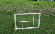 VINTAGE SASH ANTIQUE WOOD WINDOW PICTURE FRAME PINTEREST WEDDING 8 PANE 40x24