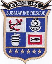 USS Sunbird ASR15 - Crest - Submarine Rescue - Bc Patch - C6773