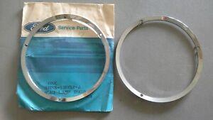 NOS 1967-1968 GT 350 GT500 Shelby Mustang Headlight Door Ring Chrome Bezels