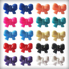 Little Bow, Bowknot Stud Earrings. Cute & Kitsch. Many Colours Available