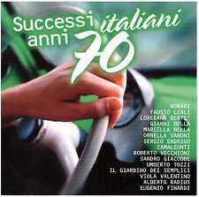 VA Successi Italiani Anni 70 CD Nomadi CAMALEONTI Alberto Radius E. FINARDI etc.