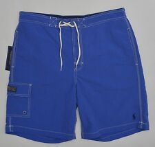 Men's POLO RALPH LAUREN Marine Blue Swimsuit Trunks XXL 2XL NWT NEW Nice!