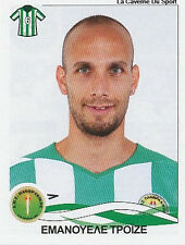 N°234 E. TROISE # ITALIA PANTHRAKIKOS STICKER PANINI GREEK GREECE LEAGUE 2010