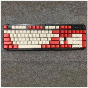 104 108 PBT Keycaps Set Fit Cherry MX Mechanical Keyboard Big Sale