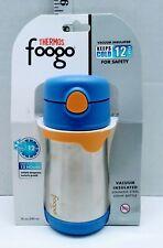 Thermos Foogo Leak-proof Straw Bottle Blue BS535BL003