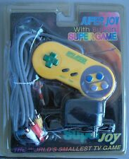 Video Consola tipo joystick para la TV Super Joy con 32 juegos incorporados