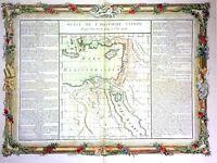 ATLAS METHODE ET ELEMENTAIRE DE (...). GRAVURE. BUY DE MORNAS. FRANCE 1761