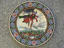 ASSIETTE COLLECTION PORCELAINE HEINRICH LES CONTES DE RUSSIE 21,8 cm diamètre