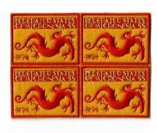 Micronesia - Embroidered Year of Dragon - RARE SOUVENIR BLOCK - MNH