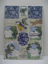 SKY LANDER Small Bird Box House Kit Wall Decoration Miho Italy NEW SEALED