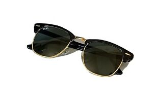 Ray-Ban Herren Sonnenbrille Clubmaster RB3016 W0365 49-21
