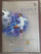 More details for grimsby v northampton town play off final programme 1998 mint wembley league 1 2