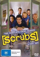 SCRUBS: THE COMPLETE THIRD SEASON 3 - BRAND NEW & SEALED R4 DVD (4-DISC)
