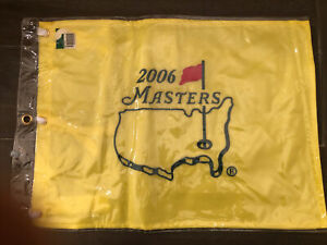 New 2006 ( Phil Mickelson) Masters flag.  Never out of the package.