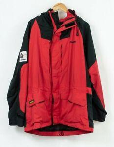 Bergans Von Norwegen Vintage Jacke Dermizax Wikinger Herren Wasserfest Größe XL