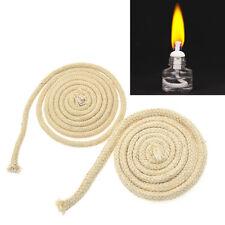 Lampendocht Öllampendocht Kerzenherstellung Baumwolldocht Geflochten Beige 100cm