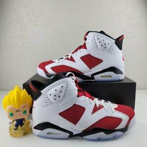 2021 Nike Air Jordan Retro 6 Carmine Mens CT8529-106