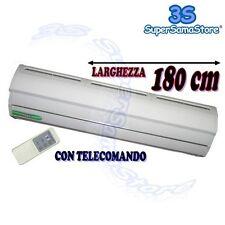 3S BARRIERA LAMA D'ARIA ELETTRICA cm 180 CON TELECOMANDO IN METALLO 220v NUOVA