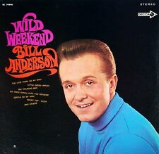 "BILL ANDERSON ""Wild Weekend"" USED 1968 Decca LP VG+/VG+"