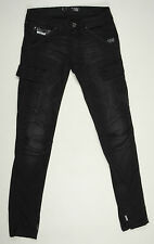 EUC - RRP $289 - Womens Stunning G-Star Raw 'ARMY DEAN TAPERED WMN' Black Jeans