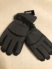 GLOVES Thinsulate Insulation 40 gram Men's Black Winter Gloves Size M/L NWT