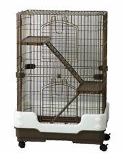 LAZY BONES LB-SA20 3 STOREY CHINCHILLA FERRET RAT DEGU CAGE BROWN
