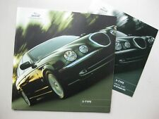 Jaguar S-Type large prestige brochure Prospekt English text 42 pages 2000 2001