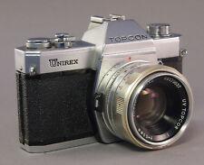 Topcon Unirex Spiegelreflexkamera mit UV Topcor 1:2/50mm - 32208