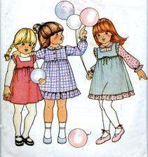 Cut Sewing Pattern Toddler Girls Dress Size 3