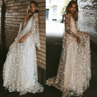 Maxi Dress Evening Long Cocktail Women Formal Sexy Ball Gown Prom Wedding Party