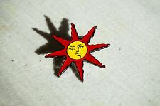 Sun Lapel Pin Praise The Sun Sunlight Medal Solaire Souls Series Badge