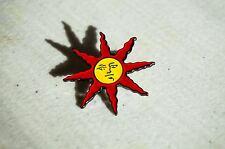 Sun Lapel Pin Praise The Sun Sunlight Medal Solaire Souls Series Badge