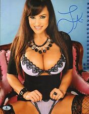 Lisa Ann Signed 11x14 Photo BAS Beckett COA MILF DVD Porn Star Picture Autograph