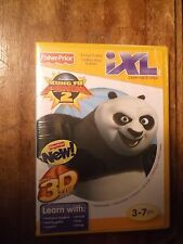 Fisher Price iXL Learning System Kung Fu Panda 2 + 3D Glasses  NEW