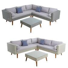 Polyrattan Eck-Sitzgruppe Rattan Gartenmöbel Set Essgruppe Gartenset Lounge Set