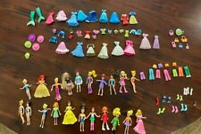 Lot of Polly Pockets (Dolls, Clothes, Accessories, Shoes) *Excellent Condition*