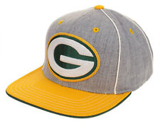 Outerstuff NFL Youth Green Bay Packers Stitched Logo Snapback Hat Cap, Grey