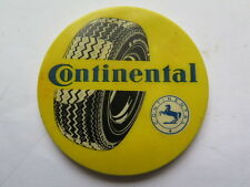 CONTINENTAL TYRES POCKET ADVERTISING MIRROR c1950s PROMOTIONAL GIVEAWAY