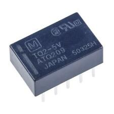 1 x Panasonic DPDT PCB Mount, High Frequency Relay TQ2-5V, 5V DC Coil